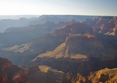Arizona Grand Canyon at dusk