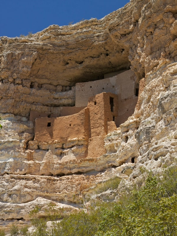 Montezuma's Castle ruins Arizona