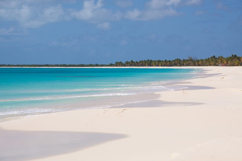 Princess Diana beach, Barbuda