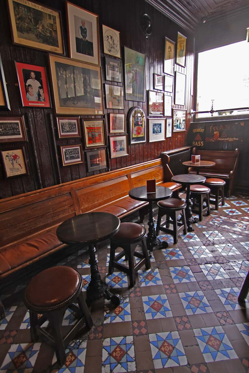 Interior of Blakes of the Hollow pub, Enniskillen, Northern Ireland