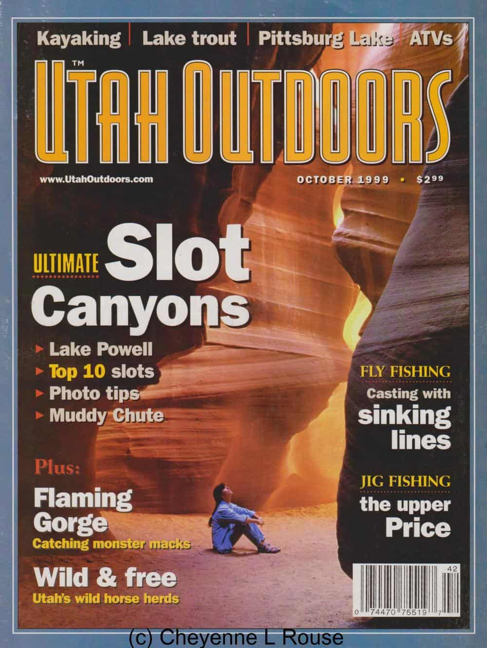 A cover photo similar to the one that lured me to Antelope Canyon