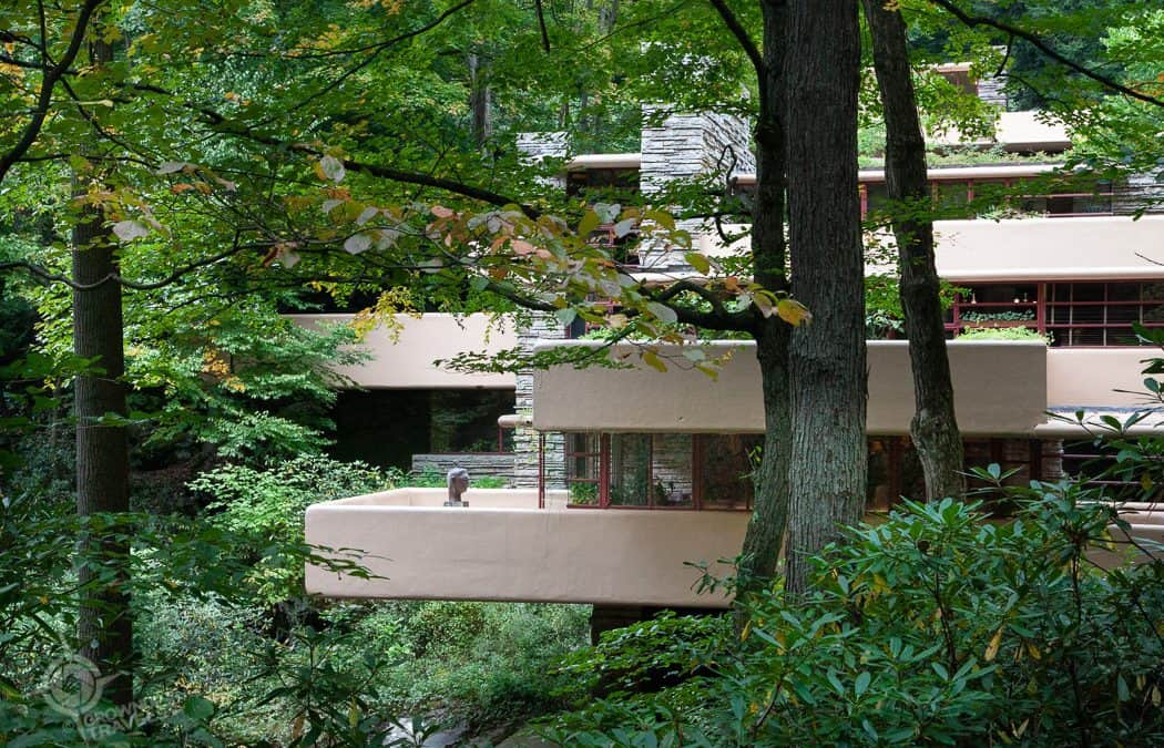 Falling for Frank Lloyd Wright on a Fallingwater Tour