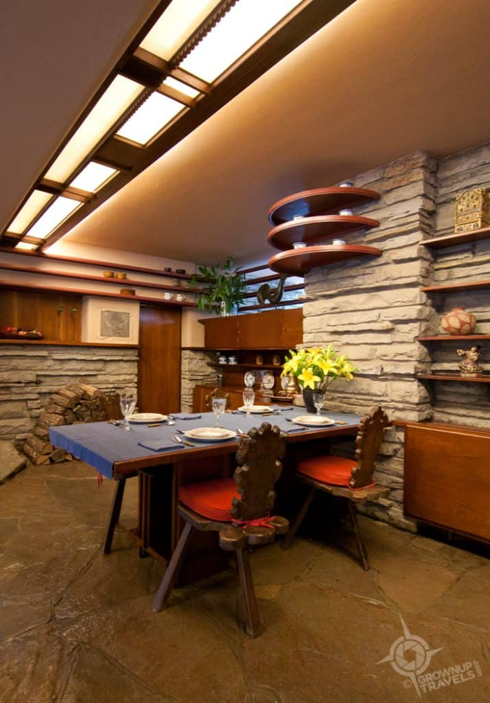 Fallingwater Dining Area Interior