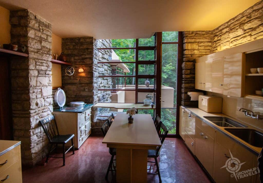 Fallingwater Kitchen Interior