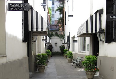 Rue des Artisans in Buenos Aires where the Comme Il Faut studio is located.