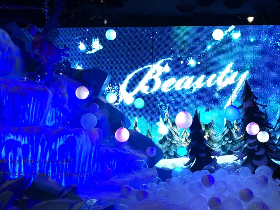 Macy's animated windows - a Holiday tradition