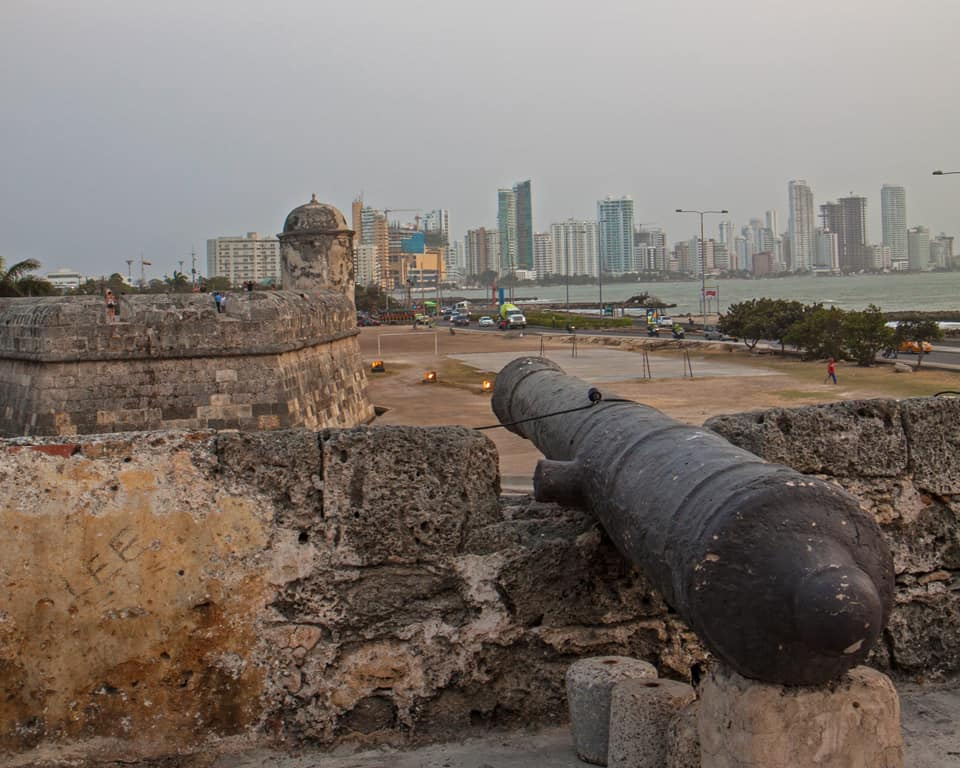 Historic Cartagena meets new 'Mini Miami' at dusk in Colombia's most visited city.