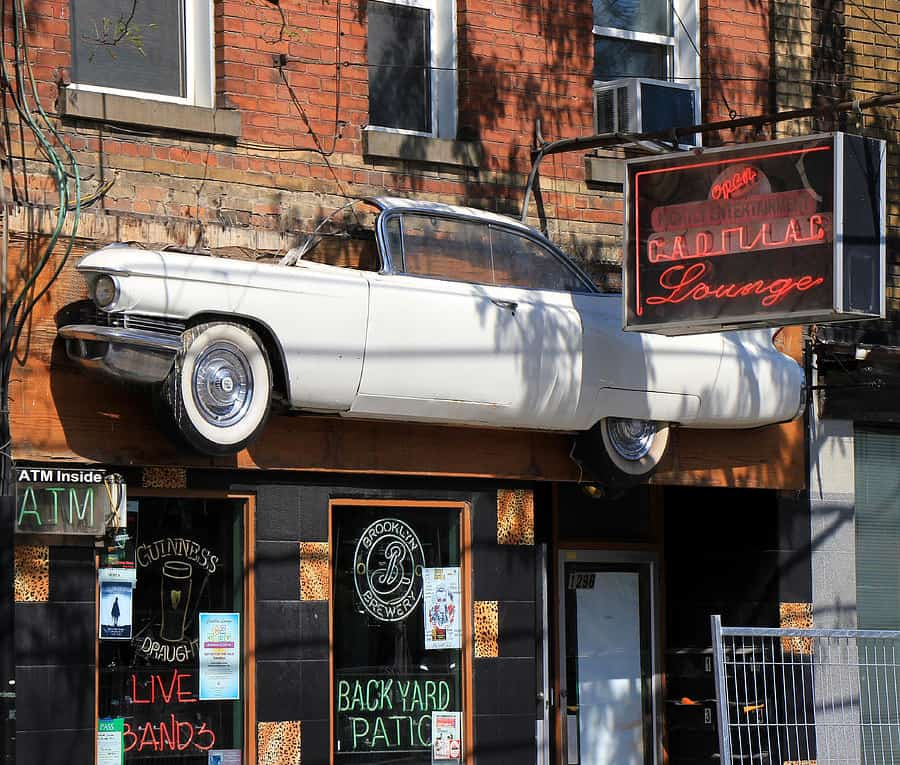 The Cadillac Lounge offers a 'slice' of Queen Street culture.