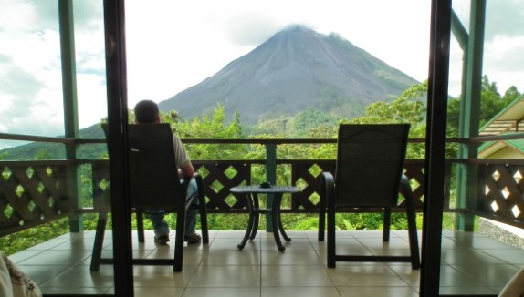 Arenal Observatory lodge Costa Rica has views to die for