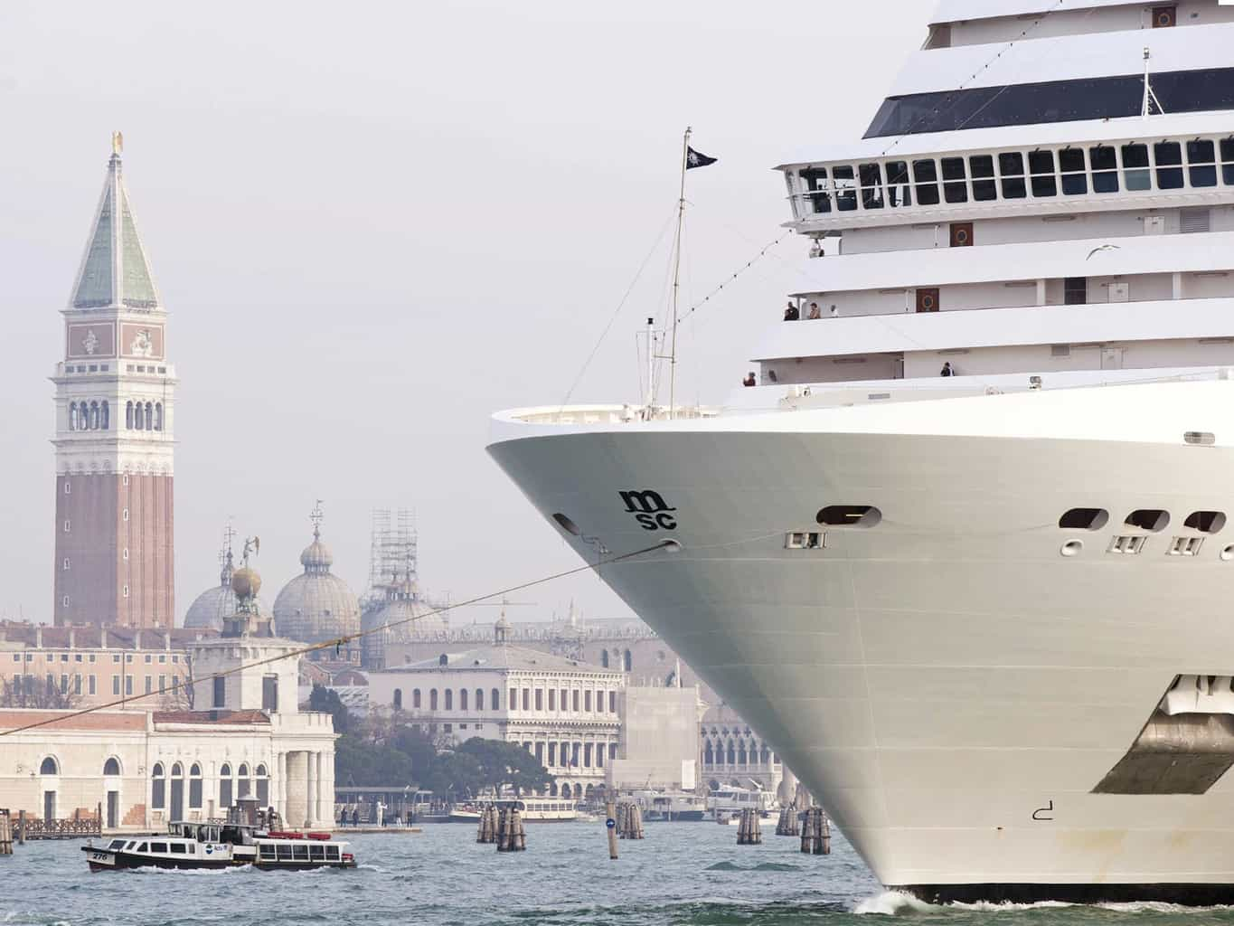 Cruise ships are destroying Venice with their wakes