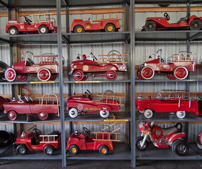 Ride'em firetrucks for every kid, from every era.