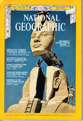 A National Geographic treasure from 1969