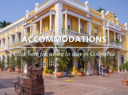 Accommodations Colombia