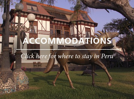 Accommodations Peru