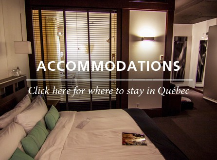 Accommodations Québec