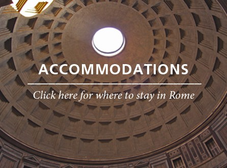 Accommodations Rome