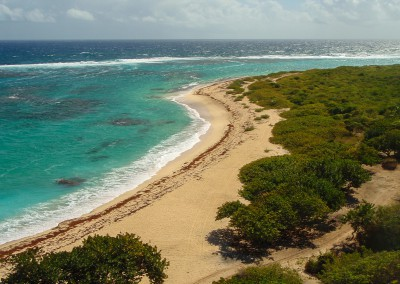 Barbuda Atlantic Beach