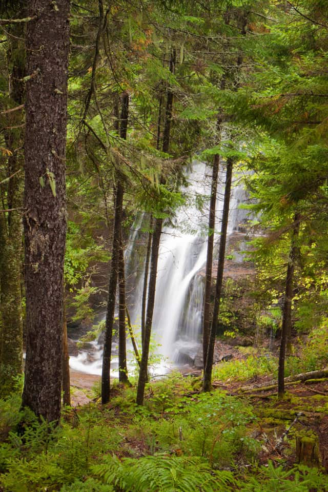 Maritimes Fundy Trail waterfall