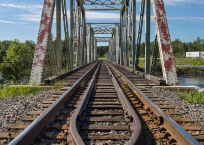 Latchford Train Trestle