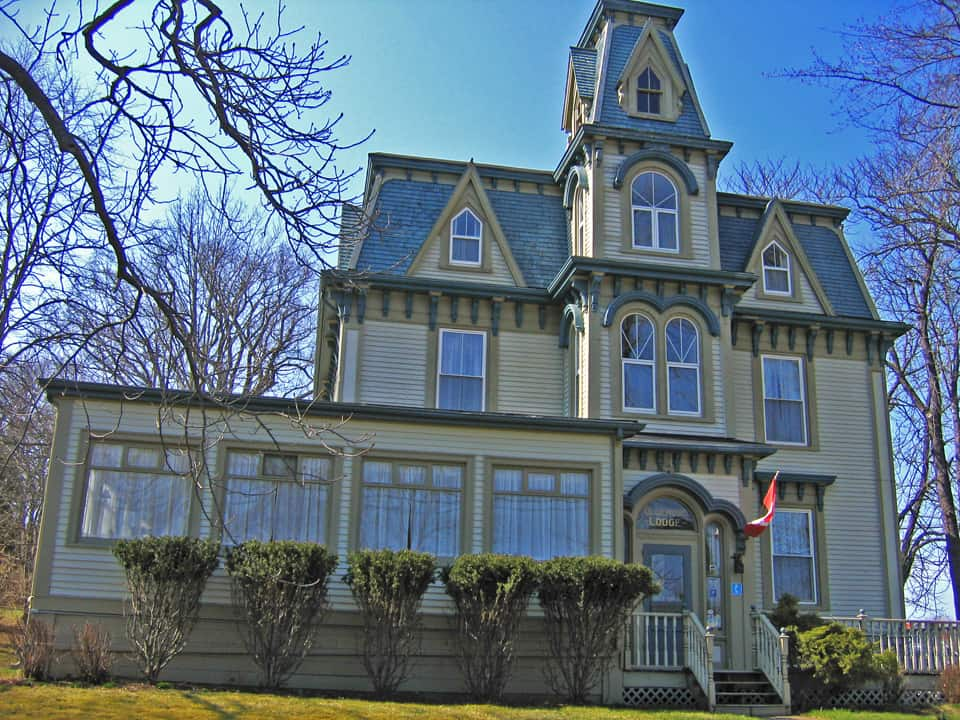 Maritimes NS Lunenburg House