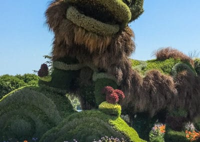 MosaiCanada 2017 Chinese Lions display