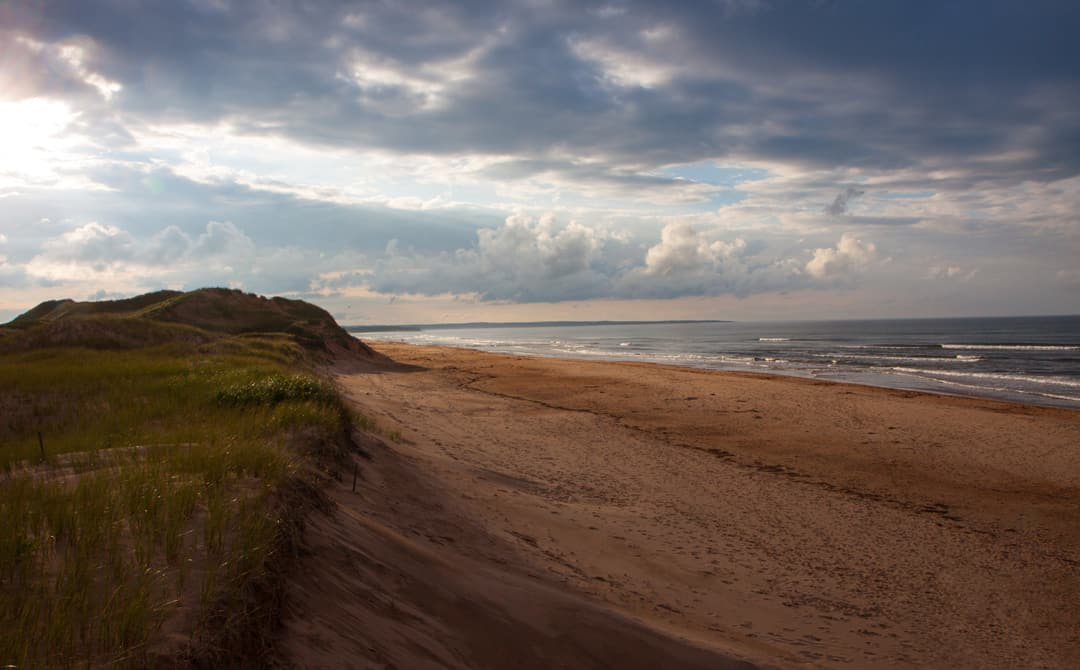 Maritimes PEI light on beach