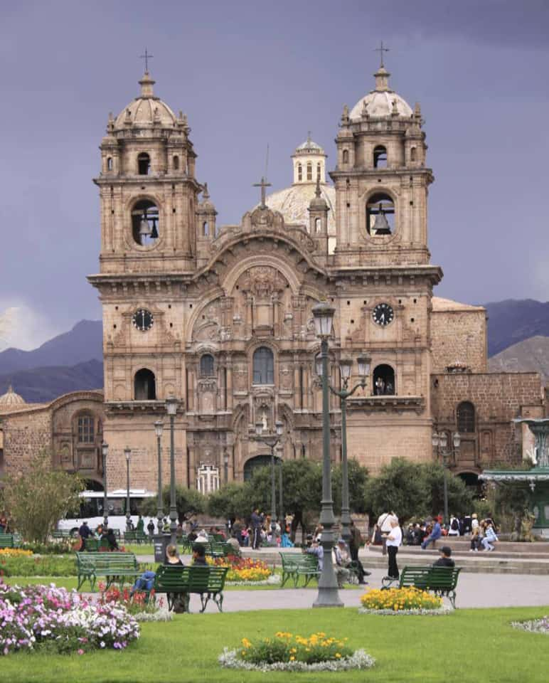 Peru Cusco Plaza