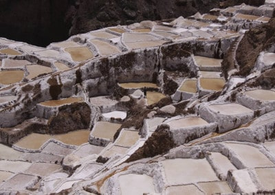 salt terraces Peru