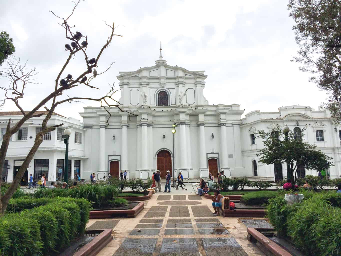 Colombia Popayan square
