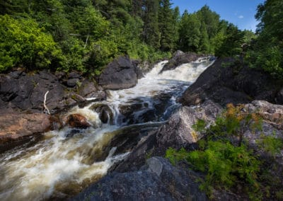 High Falls near Timmins