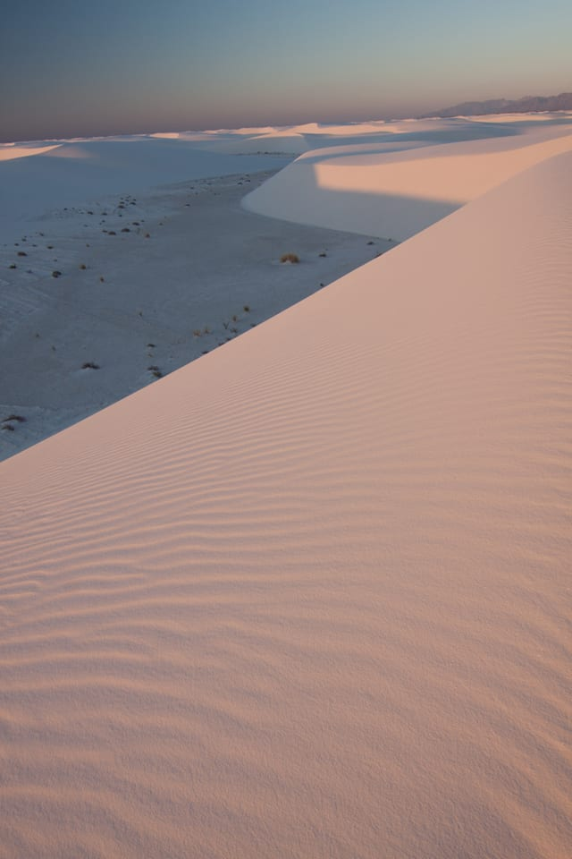 NM - White Sands Dawn