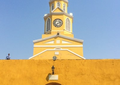 Clock Tower Cartagena Colombia