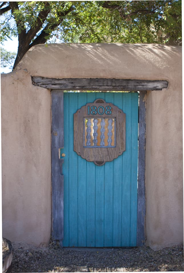 New Mexico door in Albuquerque