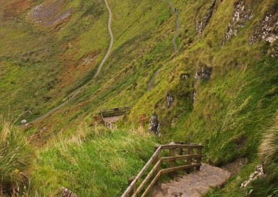 Hiking the Giant's Causeway Trail Ireland