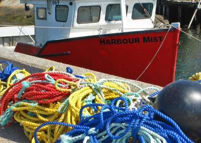 Maritimes NS Harbour Mist ropes