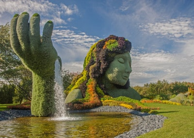 Montreal Botanical Exhibit - Mother Earth1