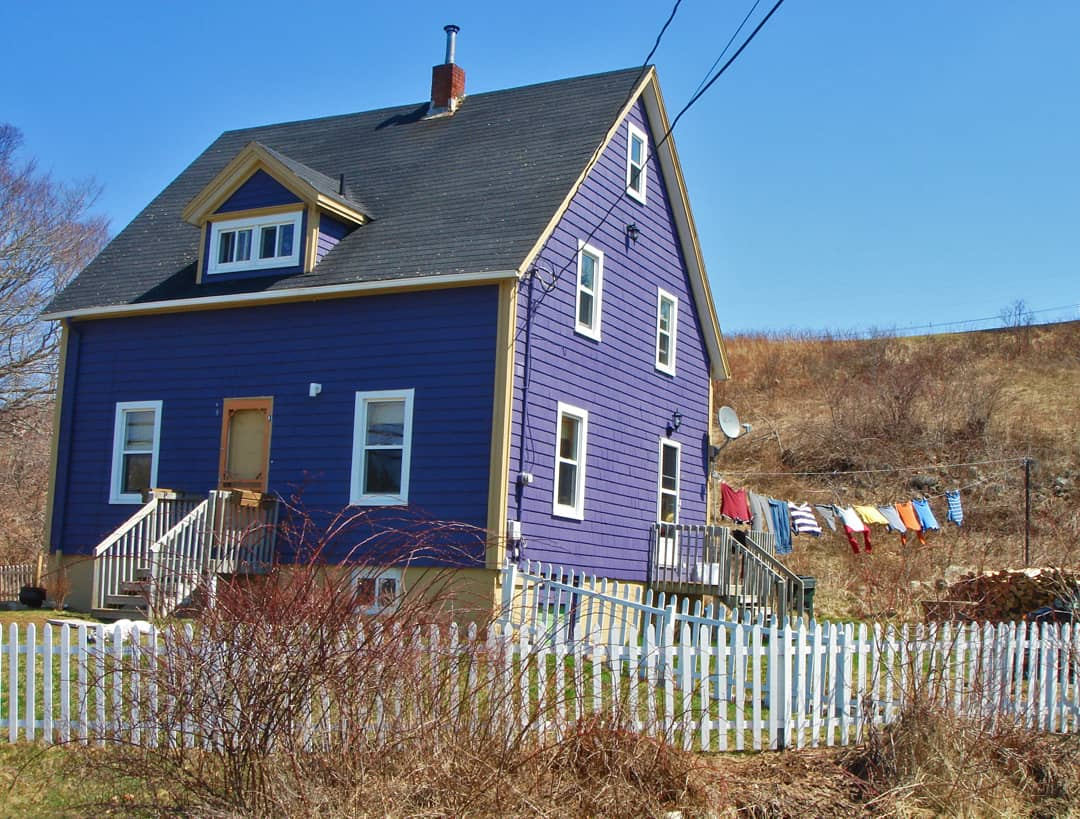 Maritimes NS Purple House