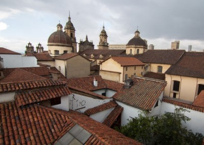 Colombia rooftops Bogota