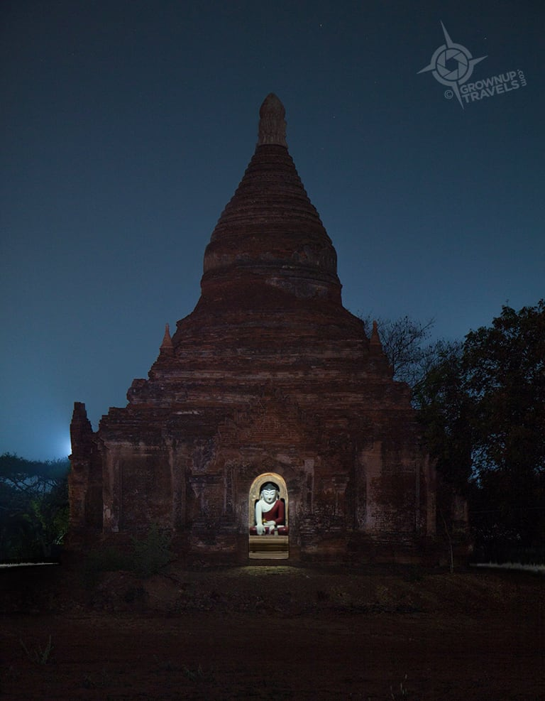 Buddha Night temple near Nuaung Oo