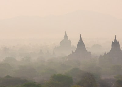 Bagan monochromatic dawn