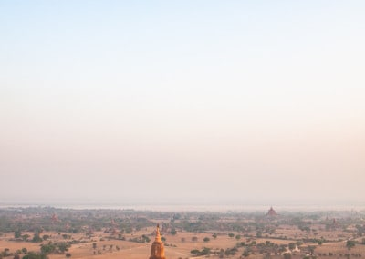 Bagan view from balloon
