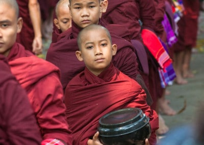 Monks in Amarapura