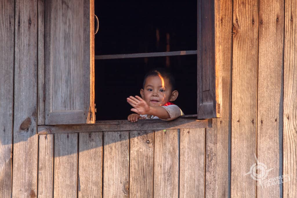 Toddler in Pankam village