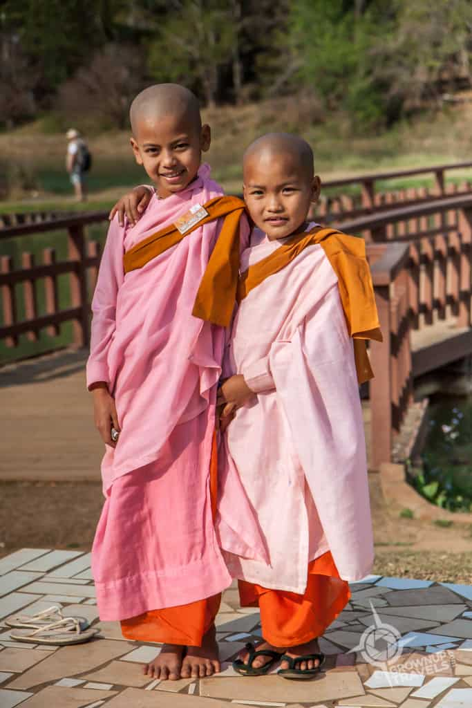Pyin Oo Lwin nun novices