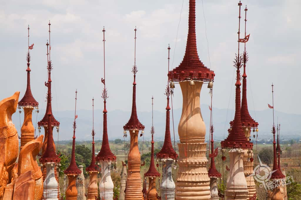 Inn Dein stupa tops