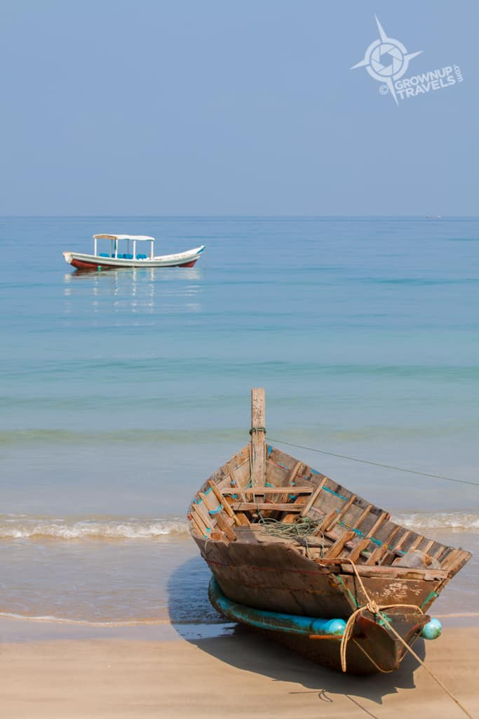 Ngapali fishing boat