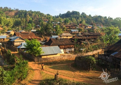 Pankaw village morning light
