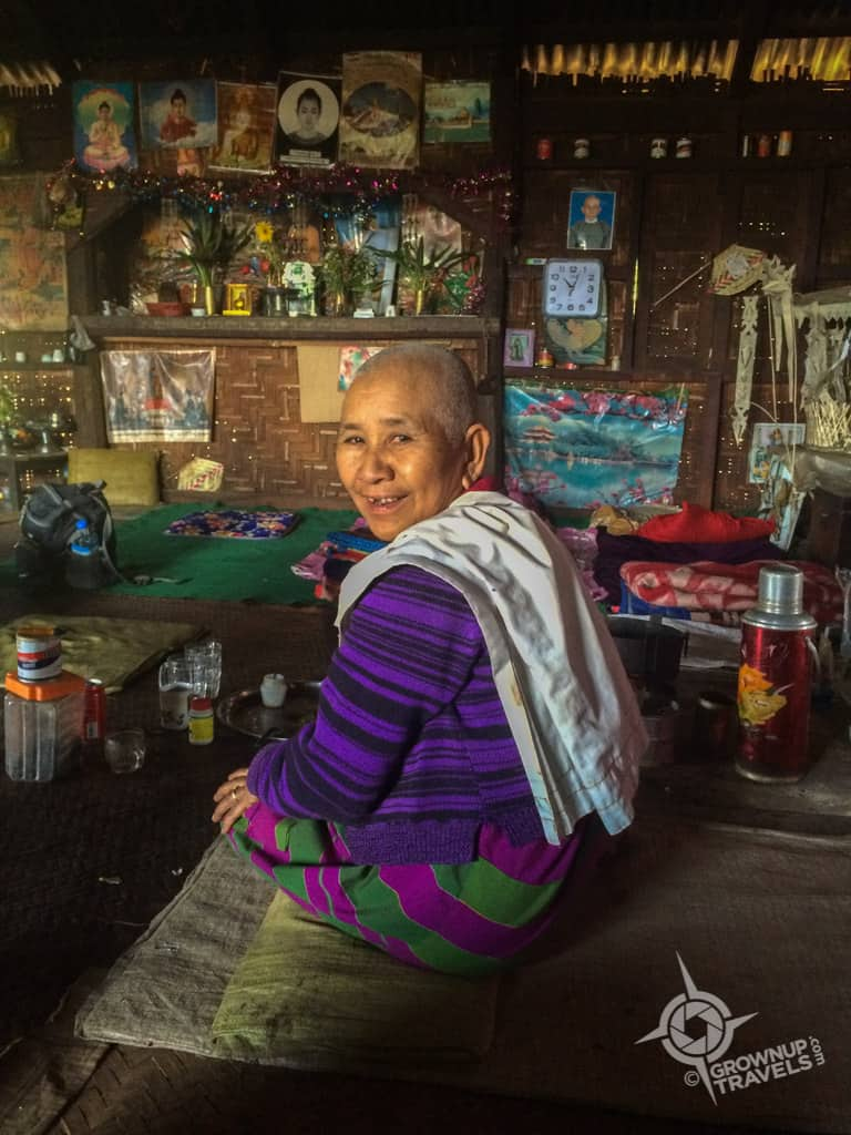 Grandma in Pankaw village