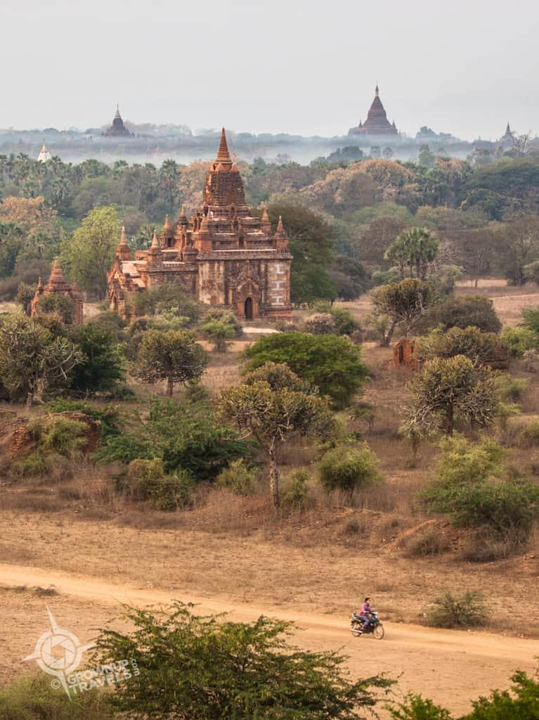 Bagan motorbike