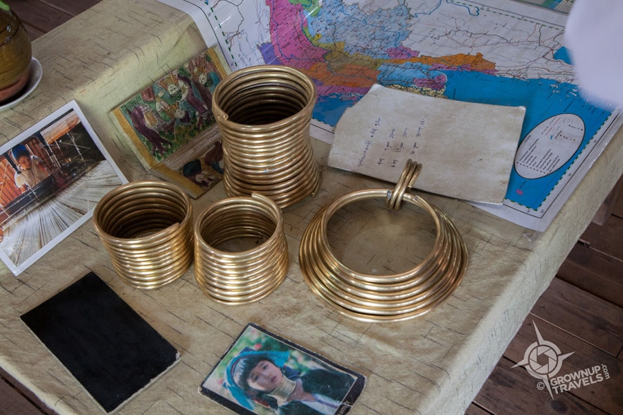 Brass rings worn by adult Kayah women can weigh up to 9 kilos (19 pounds)